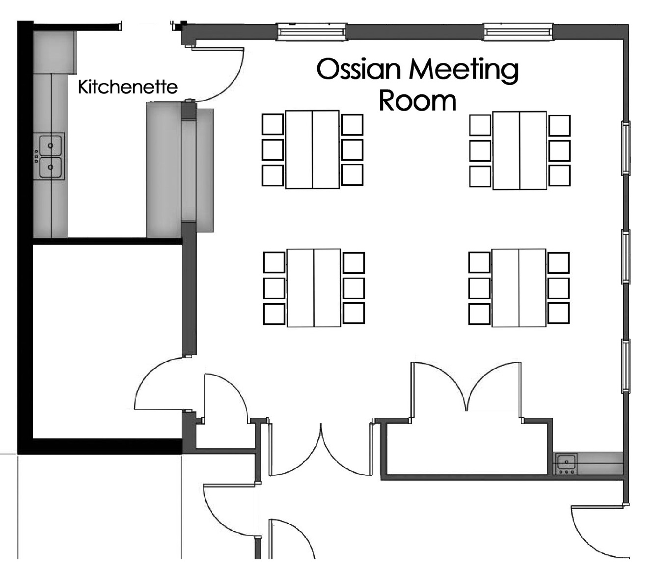 ossian meeting rooms